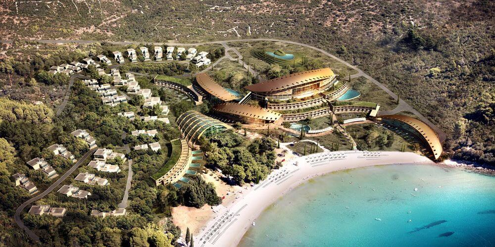 Plavi Horizonti, Tivat, Montenegro Prestigious tourist development on the Adriatic Coast